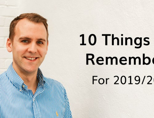10 Things To Remember for 2019/20