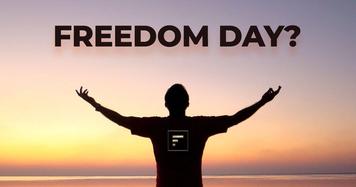 July 19th Freedom day York