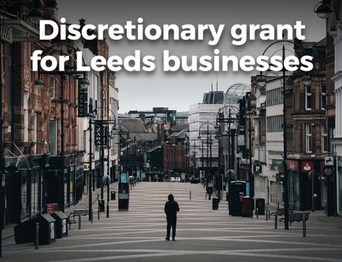 Discretionary grant for Leeds businesses
